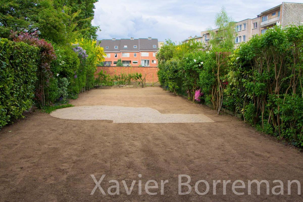 Aménagement de pelouse
