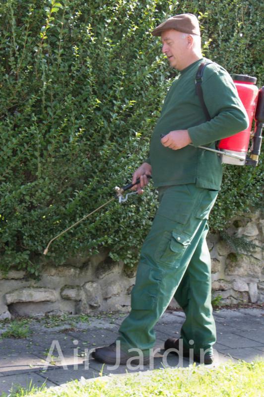 Pulvérisation herbicide