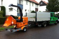 Broyage et évacuation de vos déchets de taille